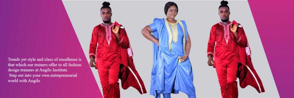 Angilo Institute Accredited Fashion School In Ghana